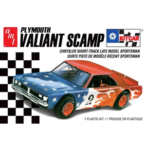 AMT\ERTL\Racing Champions.AMT AMT Plymouth Valiant Scamp Kit Car 1:25 Scale Model Kit