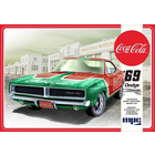 MPC . MPC MPC 1969 Dodge Charger RT (Coca Cola) 1:25 Scale Snap Kit