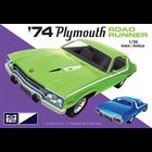 Skullduggery Inc. . SKD MPC 1974 Plymouth Road Runner 1:25 Scale Model Kit