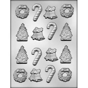 CK Products . CKP Christmas Assortment Chocolate Mold - 4130