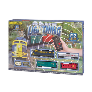 Bachmann Industries . BAC HO Blue Lightning EZ App Set
