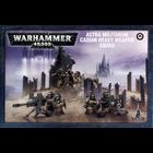 Games Workshop . GWK Warhammer 40K: Astra Militarum Cadian Heavy Weapon Squad