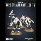 Games Workshop . GWK Warhammer 40K: Tau Empire XV25 Stealth Battlesuits