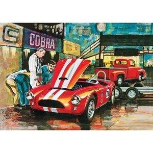 AMT\ERTL\Racing Champions.AMT 1/25 Cobra Racing Team Shelby Cobra/'53 Ford