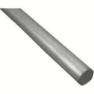 K&S Engineering . K+S Round Aluminum Rod 1/4 x 36