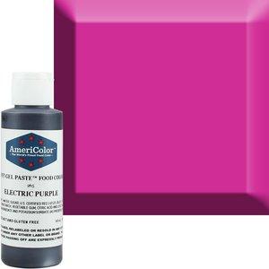AmericaColor . AME AmeriColor 4.5oz Soft Gel - Electric Purple