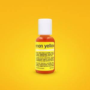 Chefmaster . CHF Chefmaster - Lemon Yellow Gel .70 oz