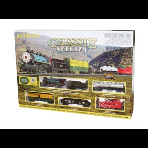 Bachmann Industries . BAC HO Chessie Special Train Set