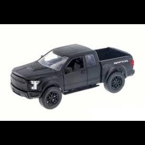 Jada Toys . JAD 1/24 - 2017 Ford F-150 Raptor - Primer Black