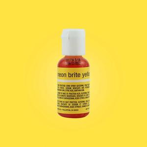 Chefmaster . CHF Chefmaster - Neon Brite Yellow Gel .70oz