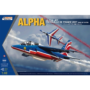 Kinetics . KIN 1/48 Alpha Jet Patrouille de France 2017