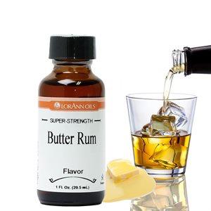 Lorann Gourmet . LAO Butter Rum Flavor 1 oz