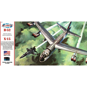 Atlantis Models . AAN 1/175 B-52 with X-15 on Swivel Stand
