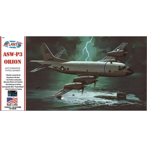 Atlantis Models . AAN 1/115 P-3A Orion US Navy