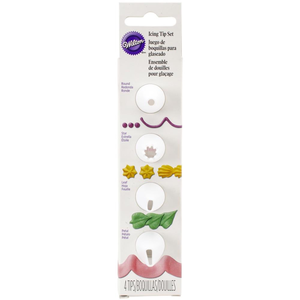 Wilton Products . WIL Decorating Tip Set - Nested