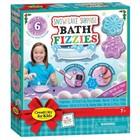 Creativity for kids . CFK Snowflake Surprise Bath Fizzies