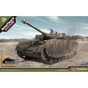 "Academy Models . ACY 1/35 German Pz.Kpfw.IV Ausf.H ""Ver. MID"""