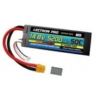 Common Sense R/C . CSR Lectron Pro 14.8V 5200mAh 50C Lipo Battery Hard Case