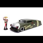 Jada Toys . JAD 1/24 1951 Mercury w/Harley Quinn