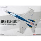 Academy Models . ACY 1/72 USN F/A-18C Golden Dragons