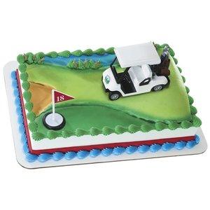 Bakemark . BKM Heading For The Green - Cake Topper