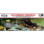 Atlantis Models . AAN 1/320 USS Forrest Sherman Destroyer