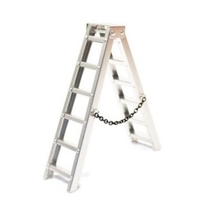 Racers Edge . REG 1/10 Scaler Aluminum Step Ladder (100mm)