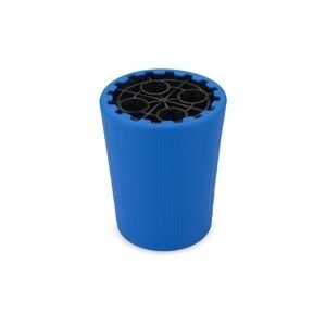 J Concepts . JCO Exo Shock Stand and Container, Black Stand/Blue Container