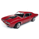 American Muscle Diecast . AMD 1/18 1968 Pontiac GTO Royal Bobcat (Class of 68 * 50th Anniversary) - Code R Solar Red