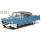 "Green Light Collectibles . GNL 1/18 Elvis Presley (1935-77) - 1955 Cadillac Fleetwood Series 60 ""Blue Cadillac"""