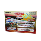 Bachmann Industries . BAC HO Ringling Bros. The Greatest Show On Earth Train Set
