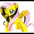 Fascinations . FTN Metal Earth - My Little Pony Fluttershy