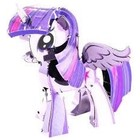 Fascinations . FTN Metal Earth - My Little Pony Twilight Sparkle