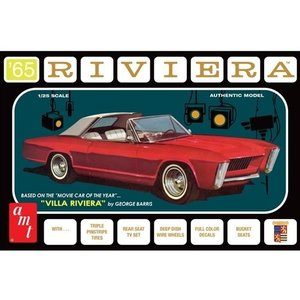 AMT\ERTL\Racing Champions.AMT 1/25 '65 Buick Riviera George Barris