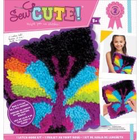 Colorbok . COK Butterfly Sew Cute Latch Hook Rug Art Rainbow Calgary