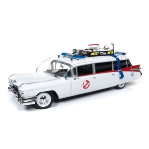 Auto World . AWD 1/18 Ghostbusters Ecto 1