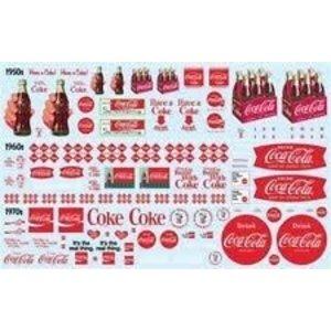 AMT\ERTL\Racing Champions.AMT Coca Cola Decal Pack