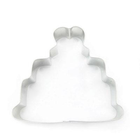"CK Products . CKP 4"" Wedding Cake Cookie Cutter"