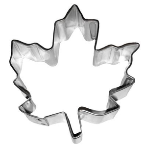 "CK Products . CKP 3-1/2"" Maple Leaf Cookie Cutter"