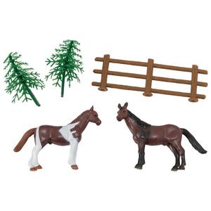 Bakemark . BKM Horses with Fence - Cake Topper