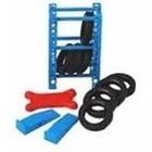 Phoenix Toys . PHO 1/24 Garage Accessories: Tire Rack, Tires, Creeper, Ramps
