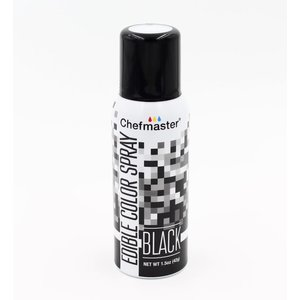 Chefmaster . CHF Edible Colour Spray - Black