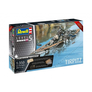 Revell of Germany . RVL 1/350 Tirpitz Battleship Premium Edition