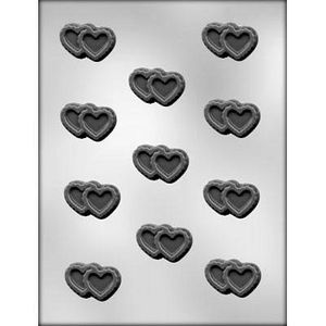 CK Products . CKP Double Filigree Heart Chocolate Mold
