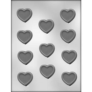 CK Products . CKP Heart With Border Chocolate Mold