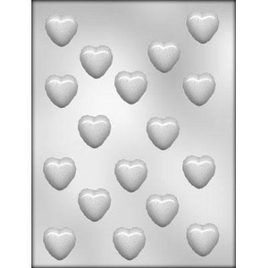 """CK Products . CKP 1-1/8"""" Heart Chocolate Mold"""