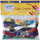 MILL HILL . MIL Color Stitch Floss Starter Kit - Crayon