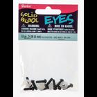 Darice . DAR 6mm Solid Black Safety Eyes