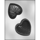 "CK Products . CKP 4"" Heart Box Chocolate Mold"