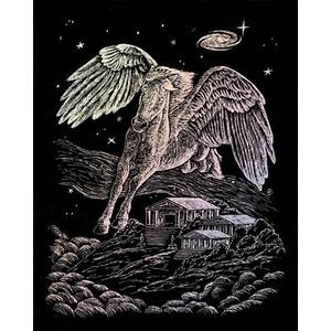 Royal (art supplies) . ROY Holographic Engraving Pegasus